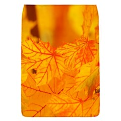 Bright Yellow Autumn Leaves Flap Covers (S)