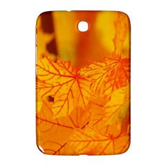 Bright Yellow Autumn Leaves Samsung Galaxy Note 8 0 N5100 Hardshell Case