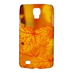 Bright Yellow Autumn Leaves Galaxy S4 Active