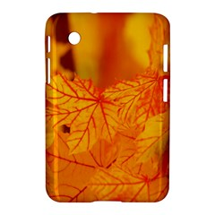 Bright Yellow Autumn Leaves Samsung Galaxy Tab 2 (7 ) P3100 Hardshell Case