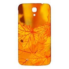 Bright Yellow Autumn Leaves Samsung Galaxy Mega I9200 Hardshell Back Case