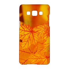 Bright Yellow Autumn Leaves Samsung Galaxy A5 Hardshell Case