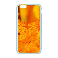 Bright Yellow Autumn Leaves Apple Seamless iPhone 6/6S Case (Color)