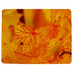Bright Yellow Autumn Leaves Jigsaw Puzzle Photo Stand (Rectangular)