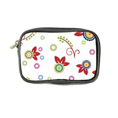 Colorful Floral Wallpaper Background Pattern Coin Purse