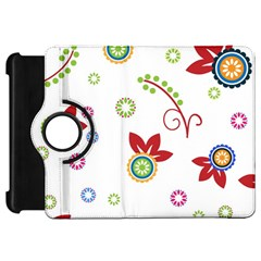 Colorful Floral Wallpaper Background Pattern Kindle Fire Hd 7