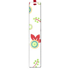 Colorful Floral Wallpaper Background Pattern Large Book Marks