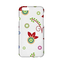 Colorful Floral Wallpaper Background Pattern Apple Iphone 6/6s Hardshell Case