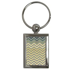 Abstract Vintage Lines Key Chains (rectangle)