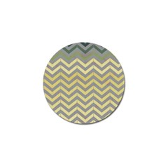 Abstract Vintage Lines Golf Ball Marker (4 Pack)