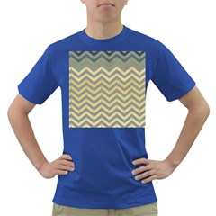 Abstract Vintage Lines Dark T-Shirt