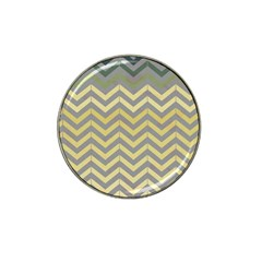 Abstract Vintage Lines Hat Clip Ball Marker (10 Pack)