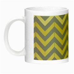 Abstract Vintage Lines Night Luminous Mugs