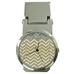 Abstract Vintage Lines Money Clip Watches