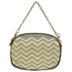 Abstract Vintage Lines Chain Purses (One Side)
