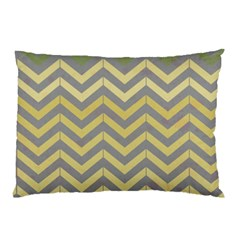 Abstract Vintage Lines Pillow Case