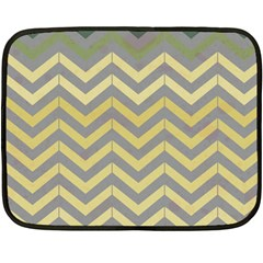 Abstract Vintage Lines Double Sided Fleece Blanket (mini)