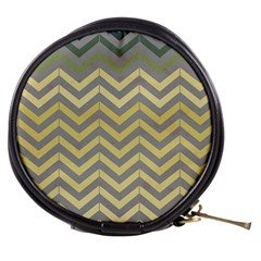 Abstract Vintage Lines Mini Makeup Bags