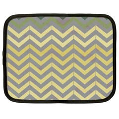 Abstract Vintage Lines Netbook Case (xxl)