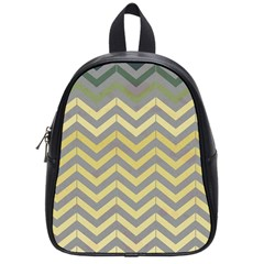Abstract Vintage Lines School Bags (small)