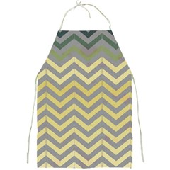 Abstract Vintage Lines Full Print Aprons