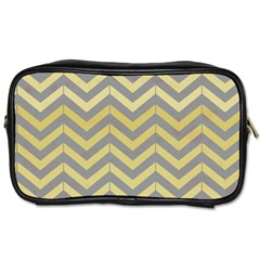 Abstract Vintage Lines Toiletries Bags 2 Side
