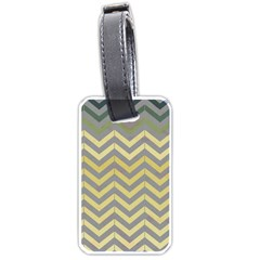 Abstract Vintage Lines Luggage Tags (one Side)