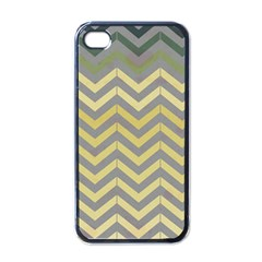 Abstract Vintage Lines Apple Iphone 4 Case (black)