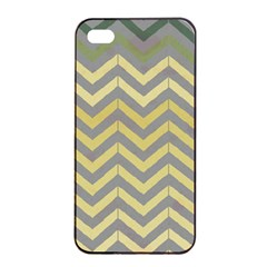 Abstract Vintage Lines Apple iPhone 4/4s Seamless Case (Black)