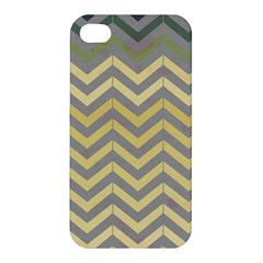 Abstract Vintage Lines Apple Iphone 4/4s Hardshell Case
