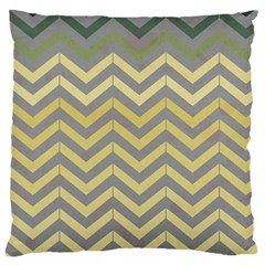 Abstract Vintage Lines Large Cushion Case (One Side)