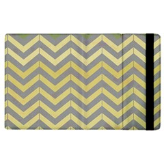 Abstract Vintage Lines Apple Ipad 2 Flip Case