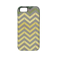 Abstract Vintage Lines Apple Iphone 5 Classic Hardshell Case (pc+silicone)