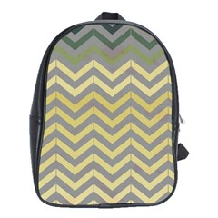 Abstract Vintage Lines School Bags (xl)