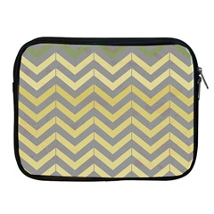 Abstract Vintage Lines Apple Ipad 2/3/4 Zipper Cases