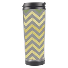 Abstract Vintage Lines Travel Tumbler
