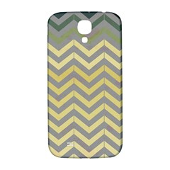 Abstract Vintage Lines Samsung Galaxy S4 I9500/i9505  Hardshell Back Case