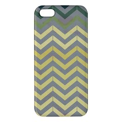 Abstract Vintage Lines Iphone 5s/ Se Premium Hardshell Case