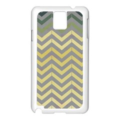 Abstract Vintage Lines Samsung Galaxy Note 3 N9005 Case (White)