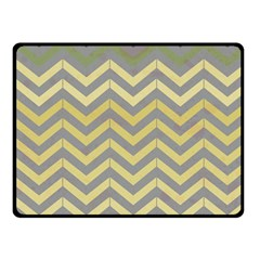 Abstract Vintage Lines Double Sided Fleece Blanket (Small)