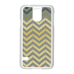 Abstract Vintage Lines Samsung Galaxy S5 Case (White)