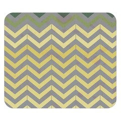 Abstract Vintage Lines Double Sided Flano Blanket (small)