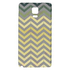 Abstract Vintage Lines Galaxy Note 4 Back Case