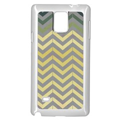 Abstract Vintage Lines Samsung Galaxy Note 4 Case (white)