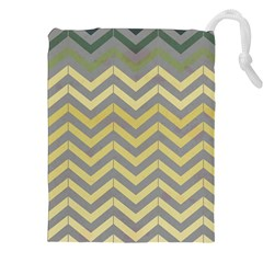 Abstract Vintage Lines Drawstring Pouches (xxl)