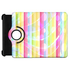 Colorful Abstract Stripes Circles And Waves Wallpaper Background Kindle Fire Hd 7