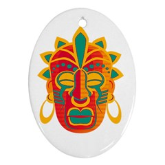 Mask Ornament (Oval)