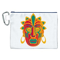 Mask Canvas Cosmetic Bag (XXL)
