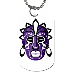 Mask Dog Tag (One Side)