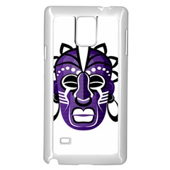 Mask Samsung Galaxy Note 4 Case (White)